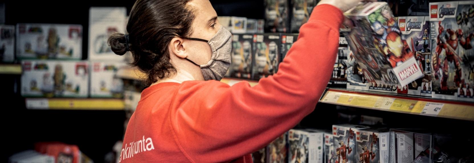 Tuomo Ranto perusti Lego-kaupan