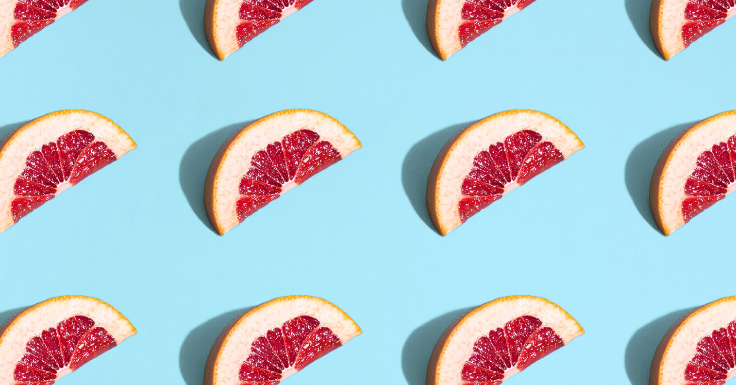 Many different blood oranges to choose from