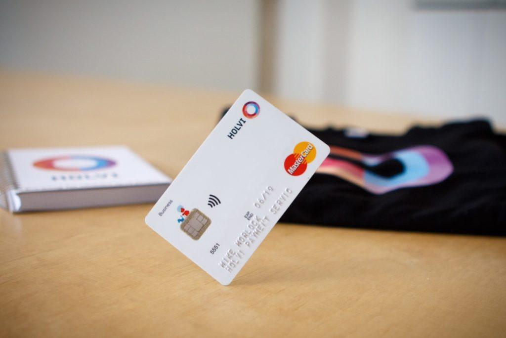 Business Mastercard Holvi Account