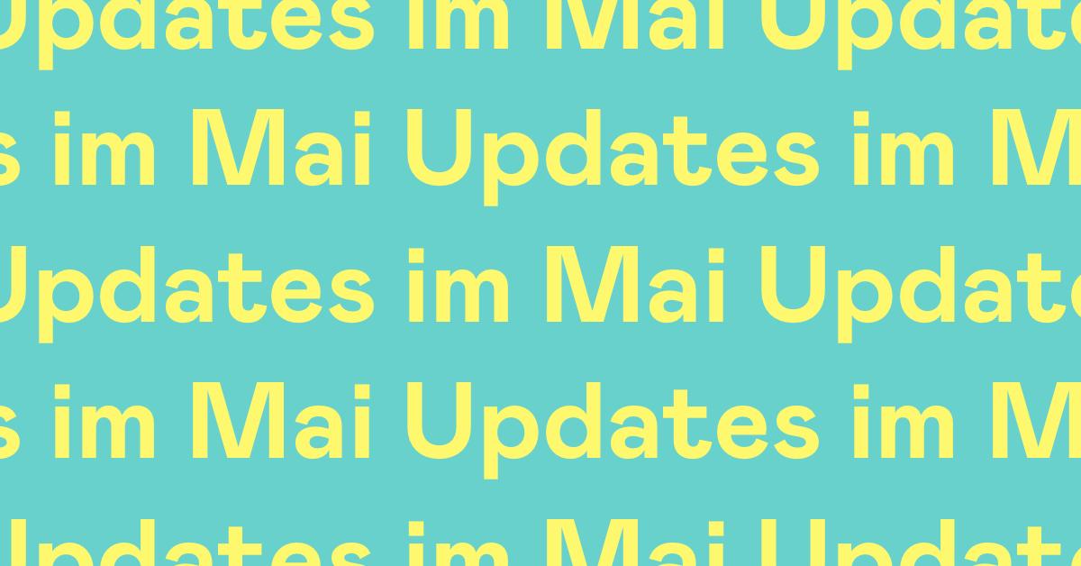 Updates im Mai – neue Funktionen bei Holvi